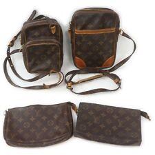 Louis Vuitton Monogram Shoulder Bag Cosmetic/Accessories Pouch 4pc set 517959