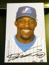 Vladimir Guerrero SIGNED 2001 Montreal Expos Postcard AUTOGRAPH Hall of Fame HOF