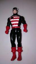 Marvel Super Heroes Captain America Action Figure Mattel Toys 1990