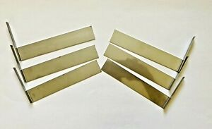 New ionSpa array plates/blades for foot detox machine 1 set = 3 pair of plates!