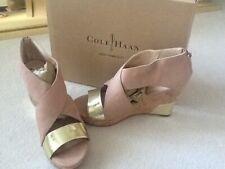 "Women's Shoes - Cole Haan Nubuck/Cork Wedge 4"" Size US 9M $99"