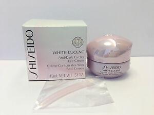 Shiseido White Lucent Anti Dark Circle Eye Cream New and Sealed in Box