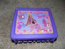 Vintage 1997 Plastic Lunch box With Thermos Barbie
