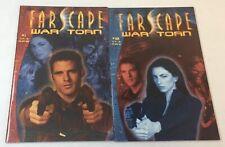 2002 Farscape War Torn comics #1 2 ~ Full Set 1-2