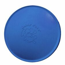 "Jolly Pets Jolly Flyer Rubber Floating Disc, Small/Medium 7.5"" Blue"