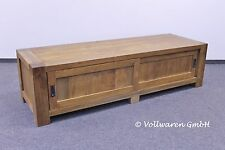 TEAK TV PHONO LOWBOARD 45x170x55 Teakholz antik  TV Schrank TV Kommode Sideboard