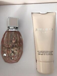 Jimmy Choo L'EAU Gift Set  60ml Perfume &100Ml Body Lotion 💕 Brand New Unused