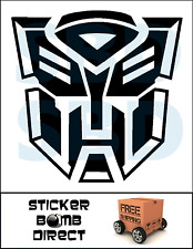 Transformers Decal Bumblebee Sticker Kids Fun Laptop Car Vinyl Movie Last Knight