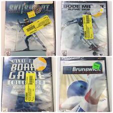 Playstation 2 (PS2) Lot 4 Games Ultimate Board Game Bode Miller Free Ship VG2