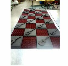 "2"" Thick Studio Acoustic Soundproofing Foam Tiles 48""x 96"