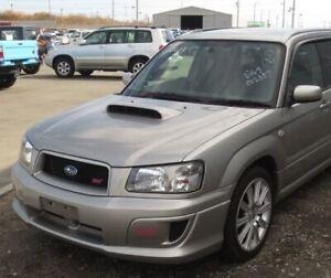 STI front Bumper (replica)  for subaru Forester SG 2002-2005