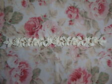 "Antique Rose & Leaf Garland Molding 22"" Trim Furniture Applique Architectural"