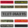 """Custom 1""""x5"""" Your Name Tape Army Military Morale Tactical Laser Cut Patch #CST"""