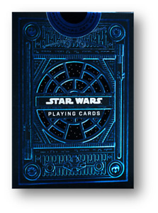 Star Wars Playing Cards Blue Poker Spielkarten Cardistry