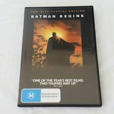 Batman Begins DVD (2-disc Set) Special Edition FREE POST