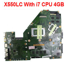 For Asus X550L X550LC Laptop Motherboard With i7 CPU REV2.0 4GB Mainboard GT720M