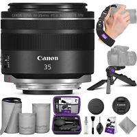 Canon RF 35mm f/1.8 IS Macro STM Lens w/ Altura Photo Essential Accessory Bundle