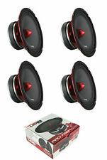 """4) DS18 PRO-X6BM 2000 Watt 6.5"""" Midrange Speakers Bullet Car Loudspeaker 8 Ohm"""