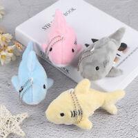 12CM Key chain Gift Shark Plush Stuffed Toy Doll Mini Pendant Plush Toys U_X