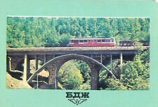 CALENDRIER POCHE POCKET CALENDAR 1978 BULGARIA State Railways BDZ TRAIN 2