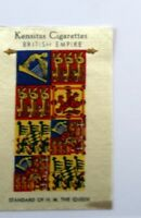 Kensitas Cigarettes British Empire Standard of H.M. The Queen Silk Patch Vintage