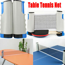 Games Retractable Table Tennis Ping Pong Portable Net Replacement Set Sports Kit