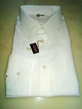 Camicia Bianca Operata Cerimonia Uomo Formal man shirt Special Tg 44 guarda