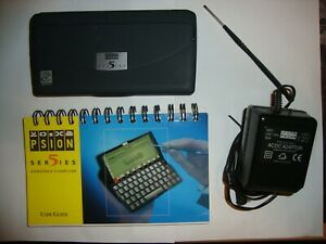 Psion Series 5 PDA, in Very Good condition plus manual, & PSU