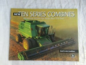 1997 John Deere 9410 9510 9610  10 series combine brochure 36 pages