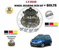 FOR SUZUKI SX4 1.6 + 1.6DT DDIS 1/2007> NEW 1 X REAR WHEEL BEARING HUB KIT
