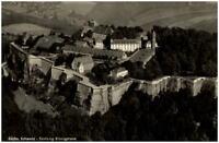 Königstein sächsische Schweiz DDR Ansichtskarte 1961 Blick auf die Festung  Wald