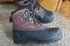Youth Boys Smith's Thinsulate-lined Cold Weather Winter Duck Boots-Sz 4-EUC