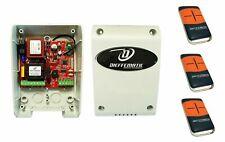 Kit centralina di comando universale per serrande avvolgibili 3 tre telecomandi