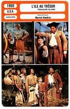 FICHE CINEMA : L'ILE AU TRESOR - Driscoll,Newton,Haskin 1950 Treasure Island