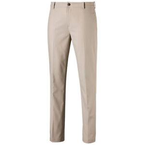 Puma Mens Jackpot Golf Pant New 2020 - 578181 White Pepper - Pick a Size