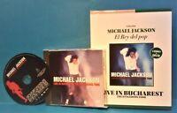 Michael Jackson '92 LIVE IN BUCHAREST DVD(PAL)(Non US region)  + BOOK