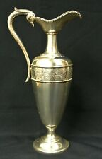 Chased Vienna .800 Silver Ewer Claret Jug by Josef Carl Klinkosch 1870's 425 gr