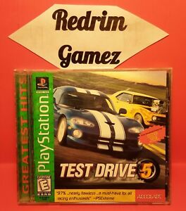 Test Drive 5 PS1 Video Games