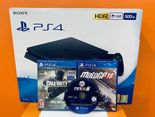 Console Playstation 4 Ps4 Slim no PRO 500Gb Fortnite + 4 Giochi NUOVA Garanzia