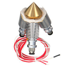 3 In 1 Out Multi Nozzle Brass Diamond Extruder Reprap Hotend V6 Heatsink Kit NEW