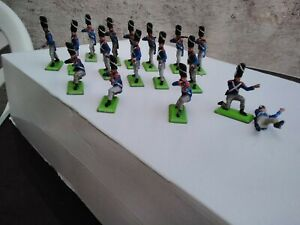 BRITAINS NAPOLEONIC SOLDIERS POSSIBLY WATERLOO