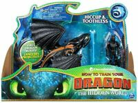 HTTYD How To Train Your Dragon Hidden World Hiccup Toothless Action Figure Toy