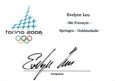 Evelyne Leu (sui) médaillé 2006 EN SKI FREESTYLE