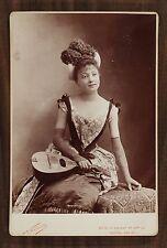 Jane Pierny, Actrice de théâtre, Cabinet Card, Photo Nadar Paris