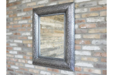 Vintage Antique Vintage Shabby Chic Style Embossed Wall Hung Mirror