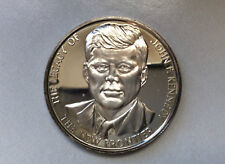 1971 Lincoln Mint The Legacy of John F. Kennedy Proof Silver Art Medal D9640