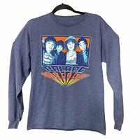 Stranger Things Netflix Blue Long Sleeve Palace Arcade Tshirt Mens Size Medium