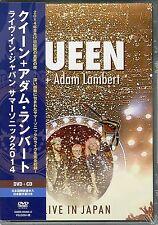 QUEEN + ADAM LAMBERT-LIVE IN JAPAN SUMMER SONIC 2014-JAPAN DVD+CD W63