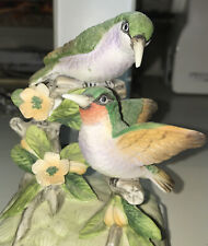 Vintage Gorham Hummingbird Music Box Plays Sunrise Sunset Fiddler On The Roof
