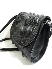 Authentic Crocodile Skin Crossbody Shoulder Bag